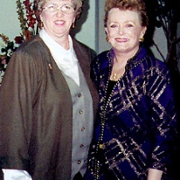 Sunna Cash with Rue McClanahan