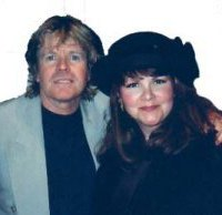 Katrina with Peter Noone