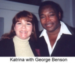 Katrina with George Benson