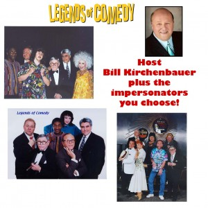 Bill Kirchenbauer Hosts Comedy Impersonators